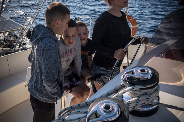 So you want to be a sailing family??