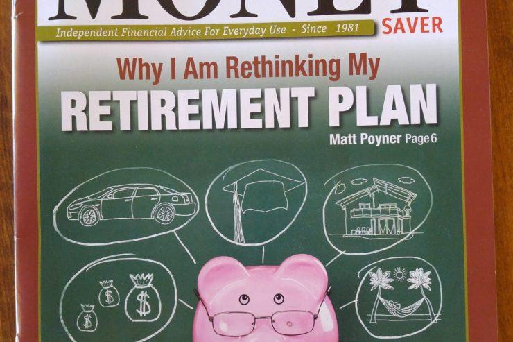 Matt's retirement article got published!