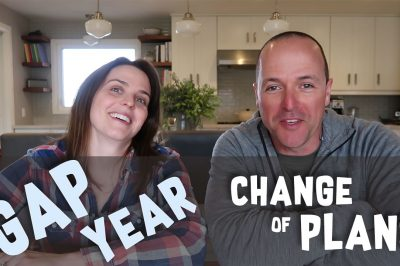 New video - How our thoughts are evolving and plans are changing