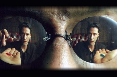 Choosing the red pill . . . and hoping for the best