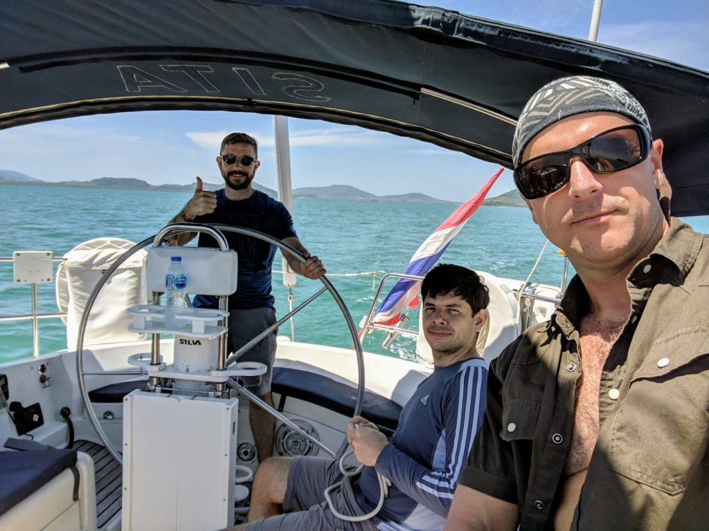 Sailing school 1: sailing into trouble